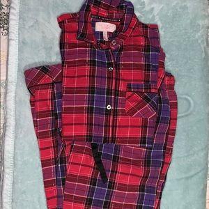 XS Victoria Secret 2-Piece Pajama Set